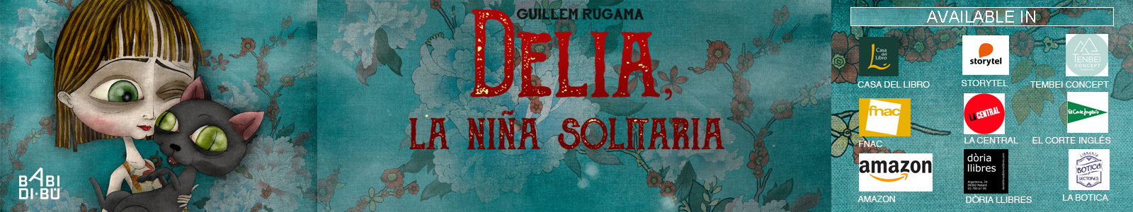 Delia, la niña solitaria. Book purchase.
